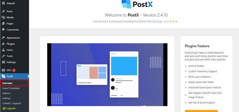 PostX Plugin Overview