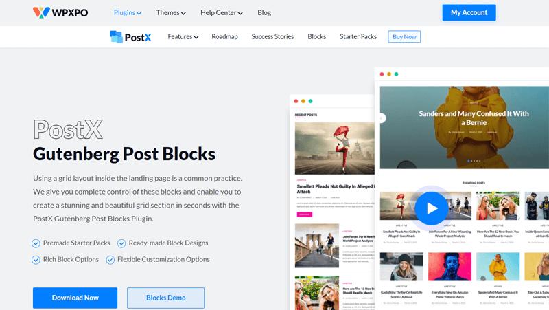 PostX Plugin Home Page