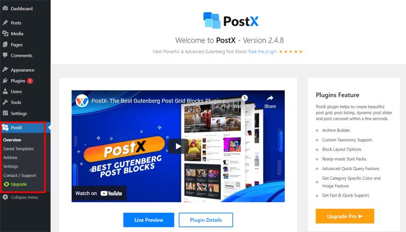 Overview of PostX